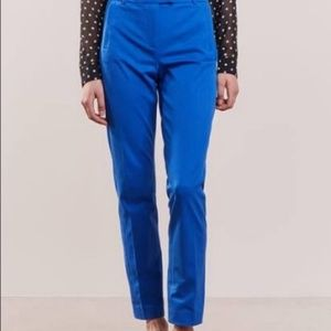 || J CREW || Size 4 Maddie Blue Cropped Pants